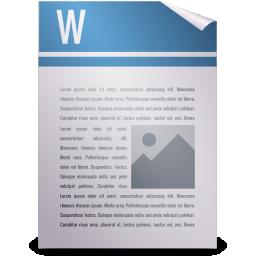 gnome, mime, opendocument text icon