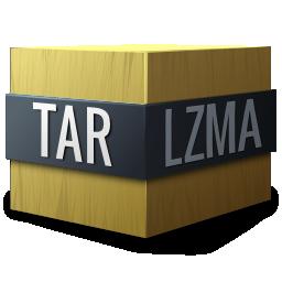 compressed, gnome, lzma, mime, tar icon