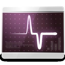 gnome, monitor, system icon