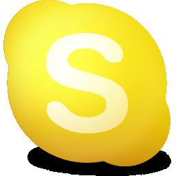 away, contact, skype icon