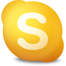 available, contact, not, skype icon