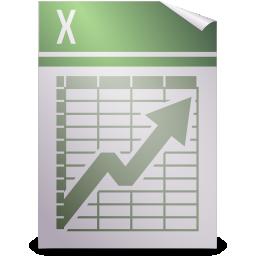 spreadsheet, text icon