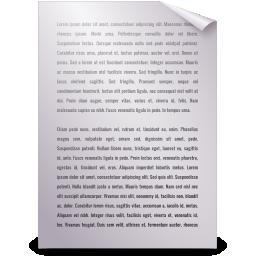 generic, text icon