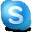 bigbrownchunx, dbus, im, skype icon