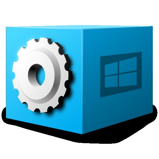 application, dos, executable, ms icon