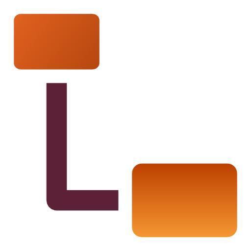 connector, draw icon