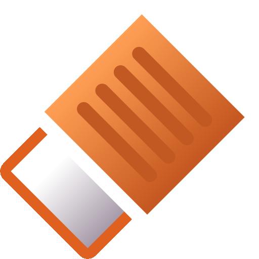 draw, eraser icon