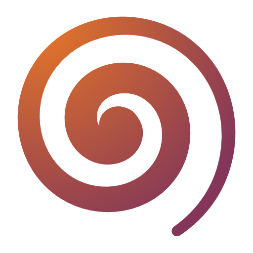 draw, spiral icon