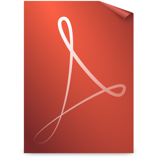 gnome, mime, pdf icon