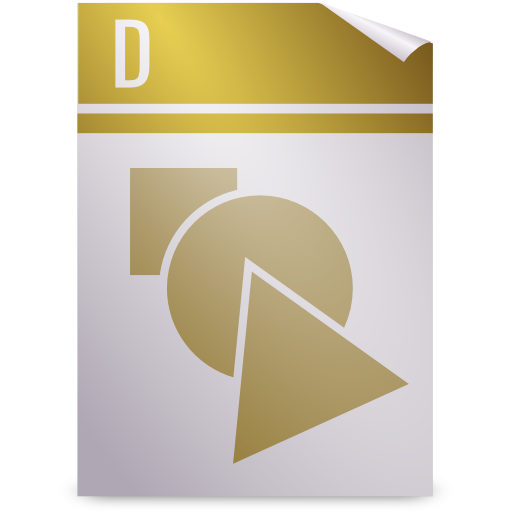 gnome, mime, opendocument graphics icon