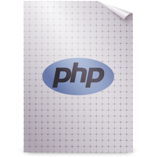 application, gnome, mime, php icon