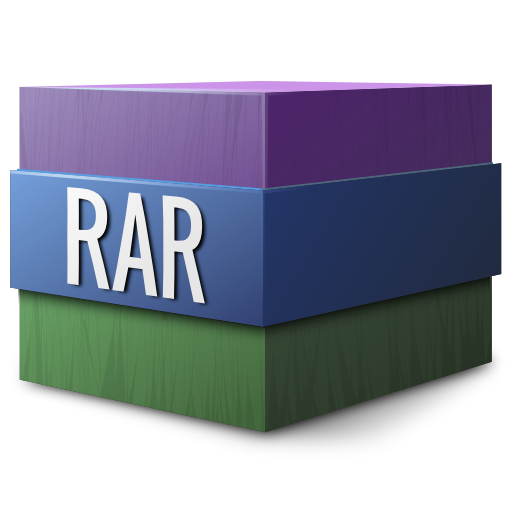 gnome, mime, rar icon