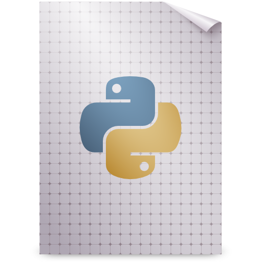 Gnome, mime, python, text icon - Free download on Iconfinder