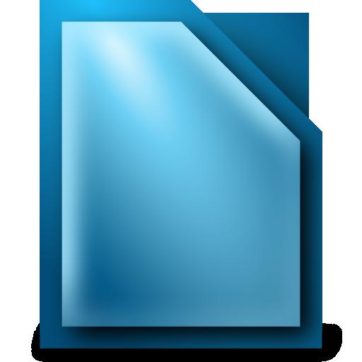 libreoffice, writer icon