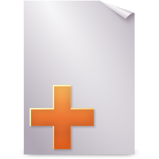 new, stock, text icon