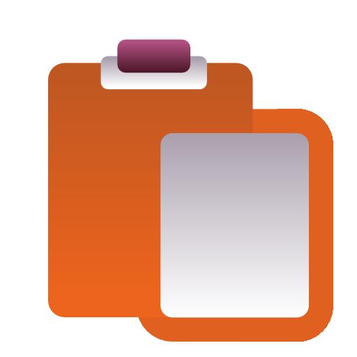 paste, stock icon