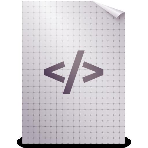 html, text icon