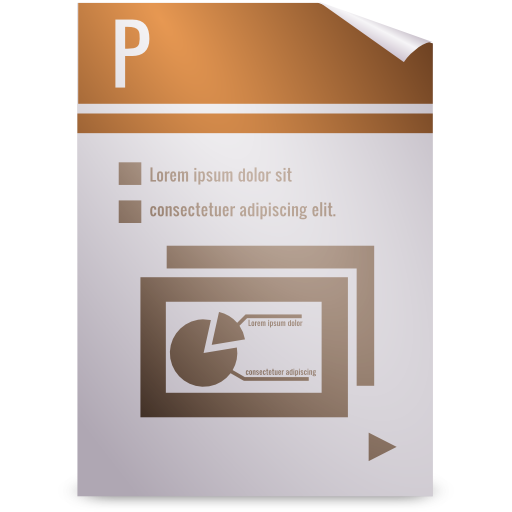 office, presentation icon
