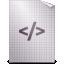 opendocument text, web icon