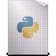 python, text icon