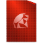 ruby, text icon