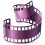 quicktime, video icon