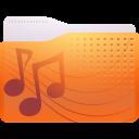 folder, music