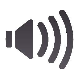 audio, low, panel, volume icon