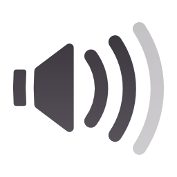 audio, medium, panel, volume icon