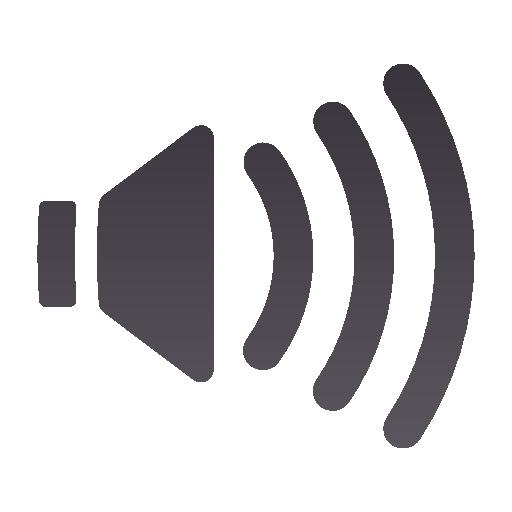 audio, high, panel, volume icon