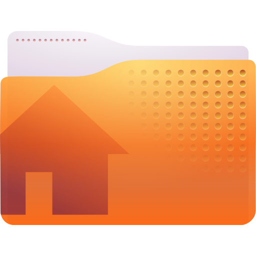 gnome, home icon