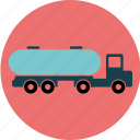 delivery, fuel, oil, tank, tanker, transport, truck icon