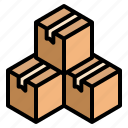 box, package, parcel icon