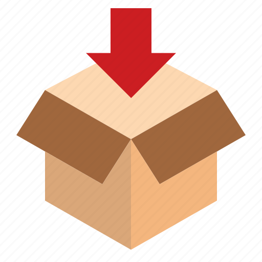 box, packaging, parcel icon