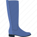 beautiful, beauty, boot, flat, high, spring, trend icon
