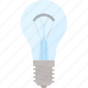 bulb, electricity, energy, flat, lamp, light, power icon