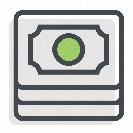 bank, cash, coins, currency, dollars, money, value icon