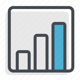 chart, graph, money, progress icon