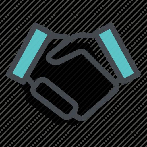 Agree, hand, hands, handshake, loyalty, partner, partnership icon - Download on Iconfinder