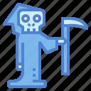 reaper, skeleton, grim, character, death
