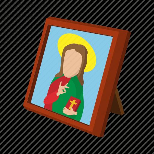 art, cartoon, christ, christianity, church, religion, religious icon