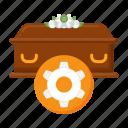 funeral, procession, coffin, casket