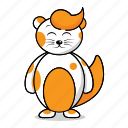 avatar, cat, cats, character, cute, funny icon