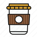 caffe, coffe, cup, drink, drinking, water icon