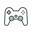 football, game, gamers, lovely, round icon