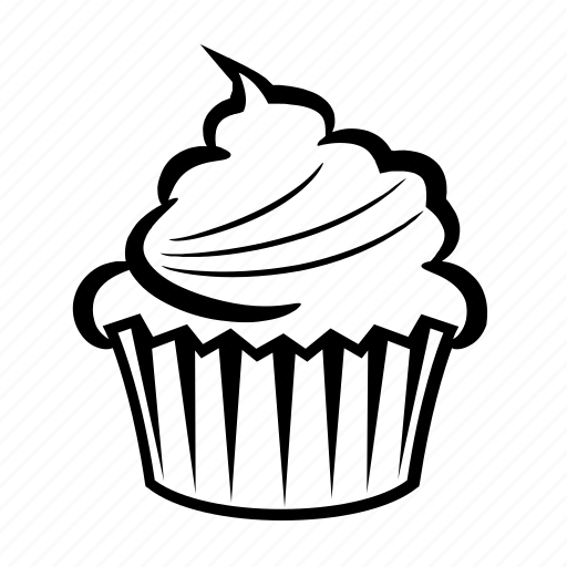 Cake Candy Cupcake Dessert Sweet Icon