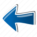arrow, direction, back, left, previous, pointer, navigation