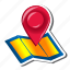 contact, direction, gps, location, map, navigation, pointer icon