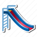 playground, slide icon