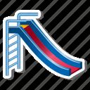 playground, slide, amusement, kids, nursery, park icon